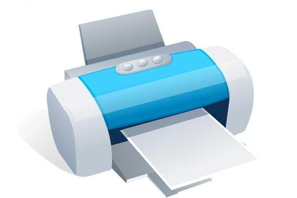 喷墨打印机印后表面处理方式