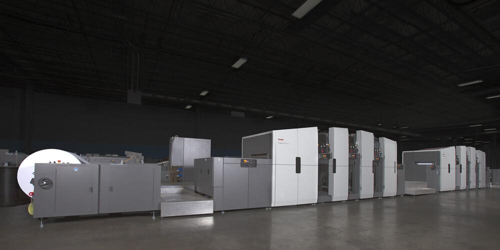 柯达鼎盛Prosper6000数码印刷机