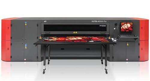EFI VUTEk H2000 Pro超宽幅面打印机