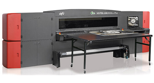EFI VUTEk GS2000LX Pro 打印机