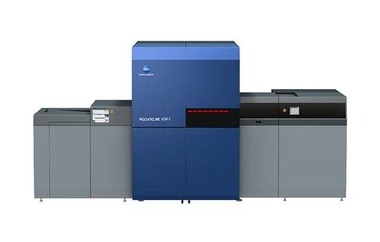 柯尼卡美能達AccurioJet KM-1 工業型數字印刷系統
