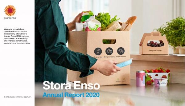 天辰娱乐app下载斯道拉恩索集团发布2020年年度报告